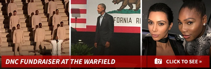 DNC Fundraiser at The Warfield