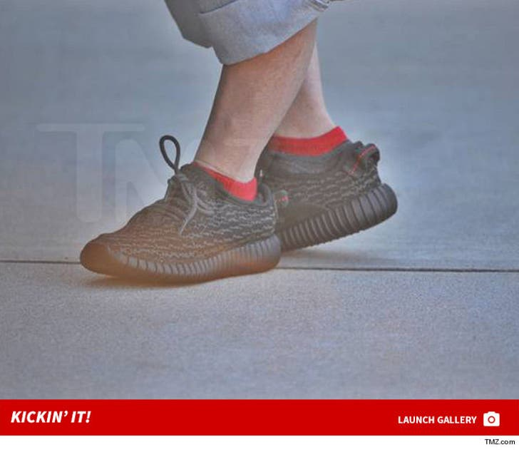 Verne Troyer's Little Yeezy Boosts