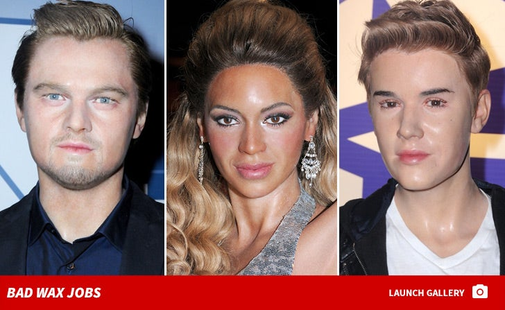 Bad Celebrity Wax Statues