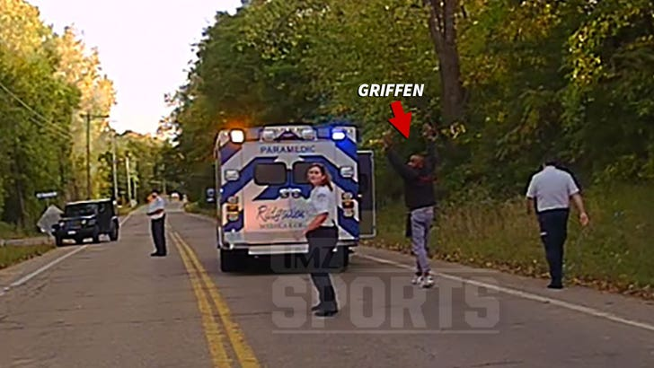 NFL's Everson Griffen Police Video After Ambulance Escape