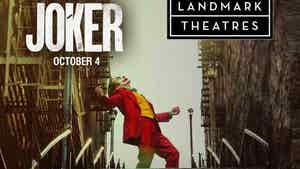 Landmark Theatres Banning Costumes for 'Joker' Opening Weekend