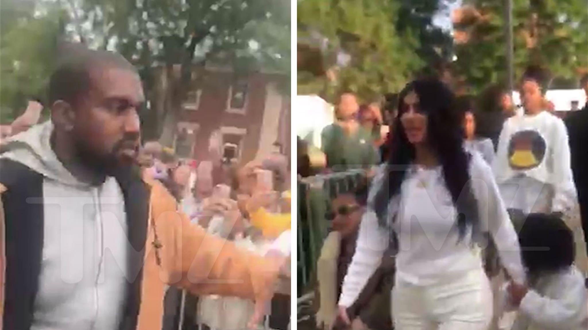 Kanye West, Kim Kardashian Surprise Howard University With Sunday Service