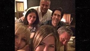 Jennifer Aniston Joins Instagram, Posts Pic of 'Friends' Cast Together