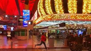 The Weeknd Shooting New Music Video in Las Vegas