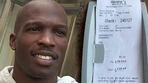 NFL's Chad Ochocinco Drops $1,000 Tip at Florida Restaurant, 'Hope This Helps'