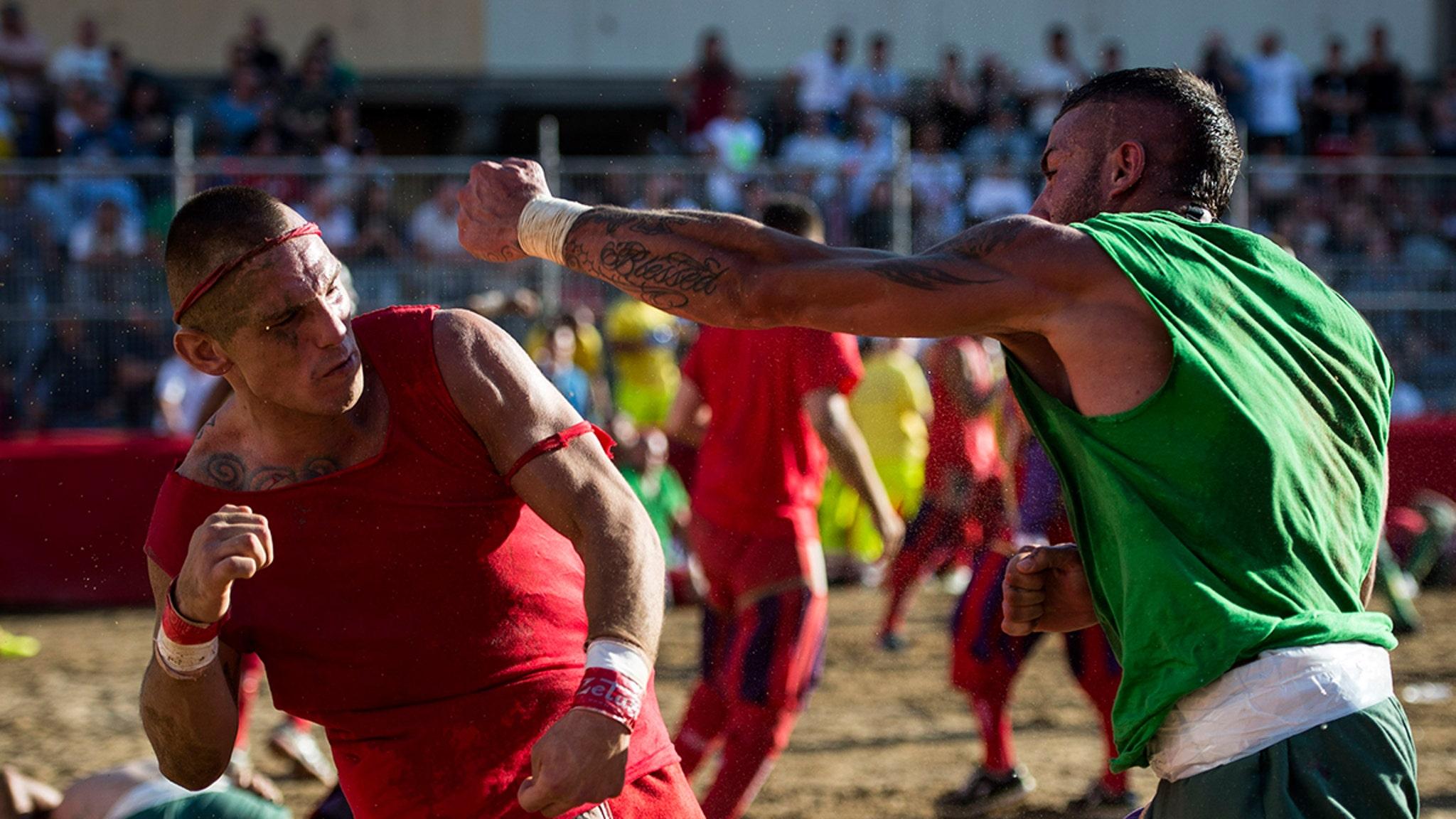 Calcio Storico Violent Championship Tourney Postponed Over COVID