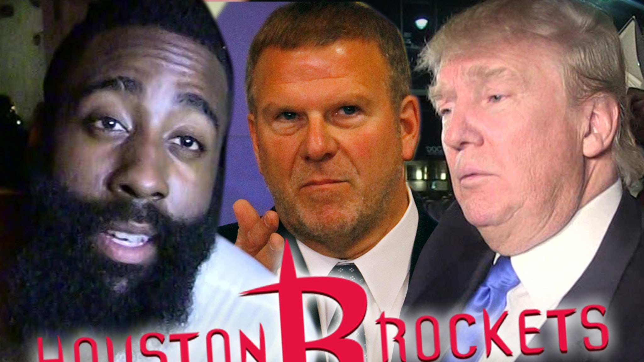 Report: James Harden Wants Out Of Houston ... Due To Owner's Trump Support