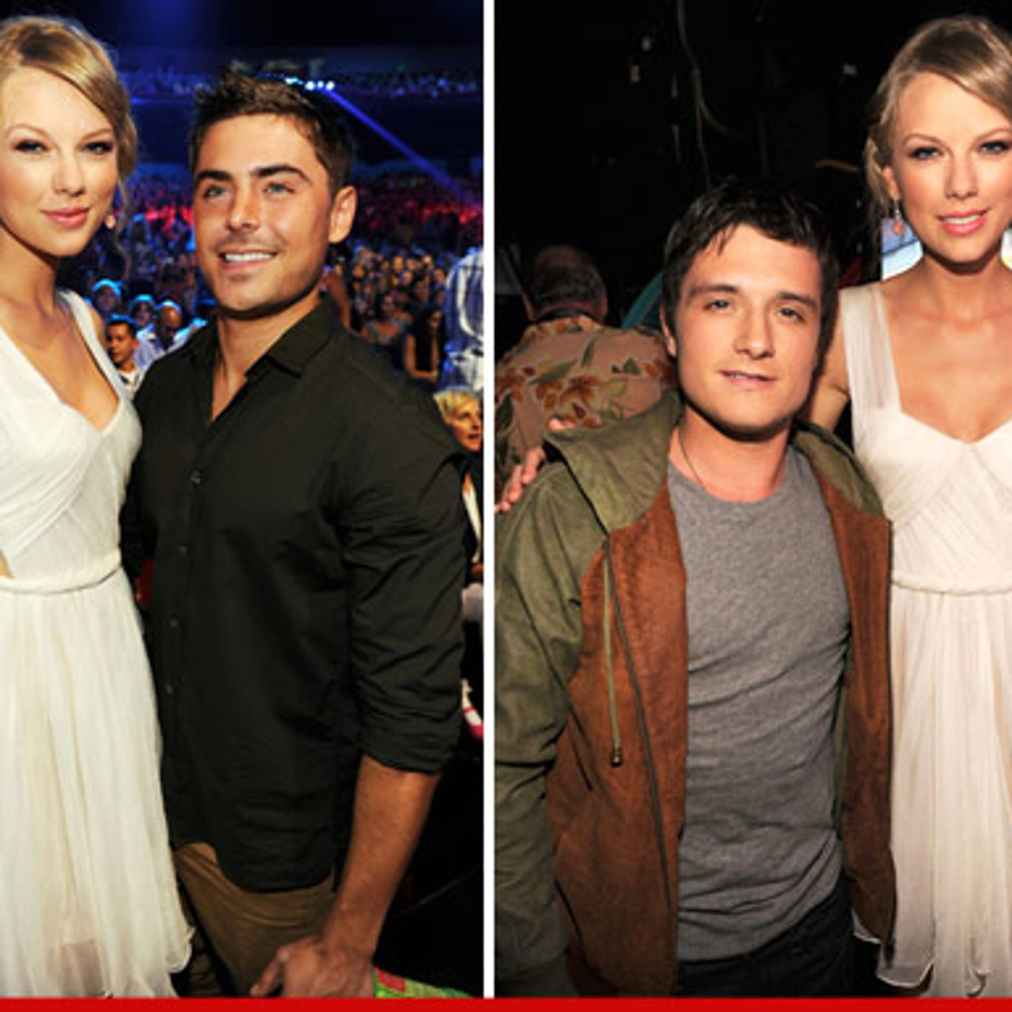 Taylor Swift Cuts Zac Efron Josh Hutcherson Down To Size