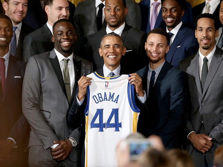 Athletes Visiting Obama At The White House