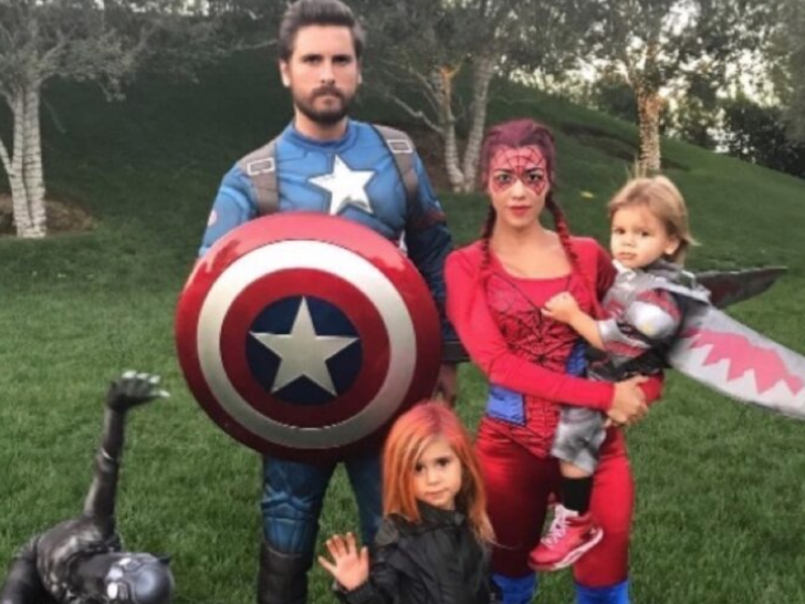 Scott Disick and Kourtney Kardashian's Family Photos