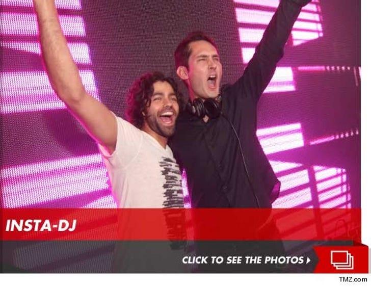 Instagram Founder Kevin Systrom DJs in Las Vegas