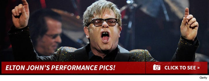 Elton John's Performance Pictures