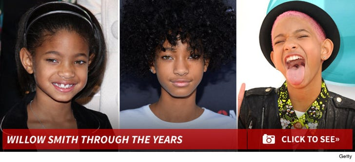 Willow Smith Through The Years
