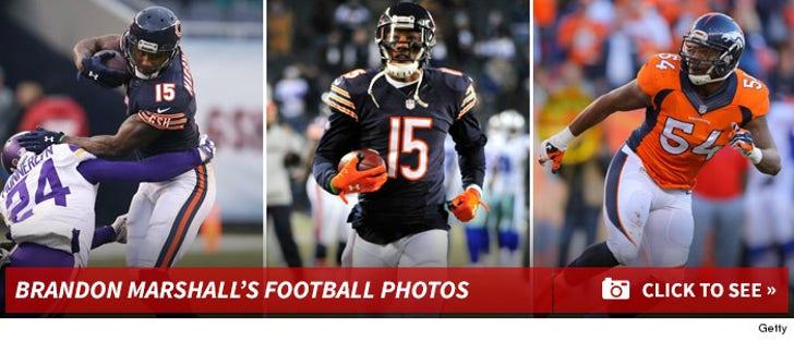 Brandon Marshall's Football Photos