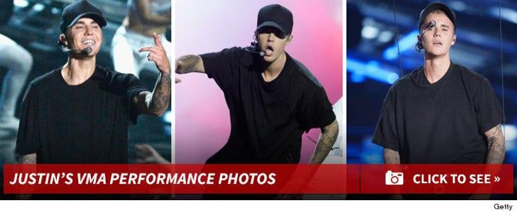 Justin Bieber's Teary VMA Performance