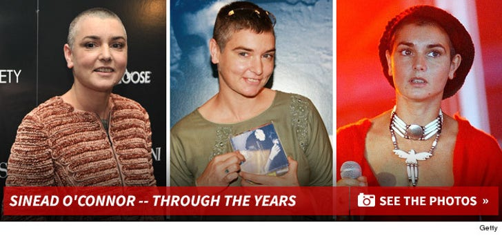 Sinead O'Connor -- Through the Years
