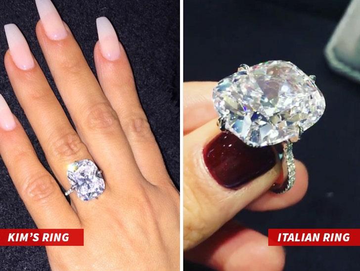 Kim Kardashian West's Stolen Ring Not So Unique?