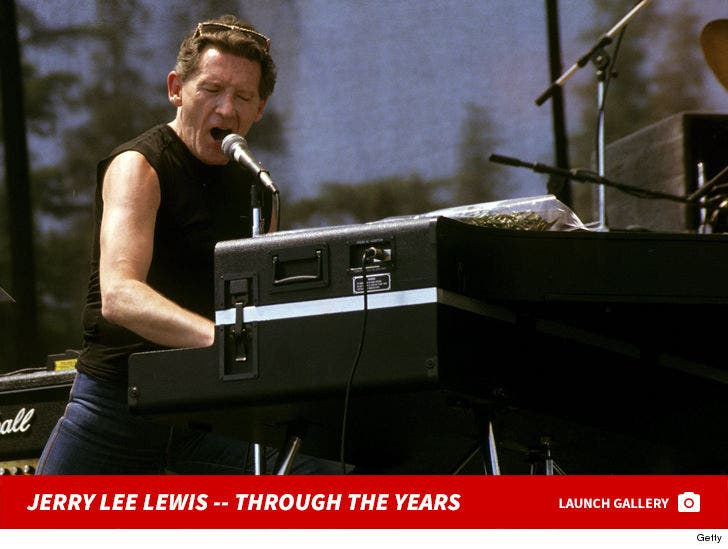 Jerry Lee Lewis -- Through The Years