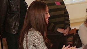 Kate Middleton -- Behold, The Royal Baby Bump