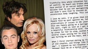 Pamela Anderson's Son Brandon Lee, 'I Love My Dad'