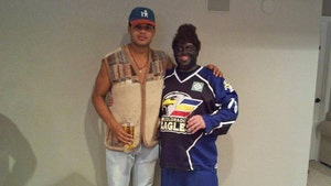 Hockey's Akim Aliu Accepts Apology from Team Staffer Who Wore Blackface