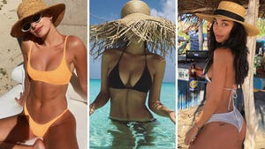 Hot Stars In Straw Hats -- Hay Girl!