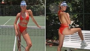 Rikki Shea Gage Serves Up Tennis Hot Shots ... Love ALL!