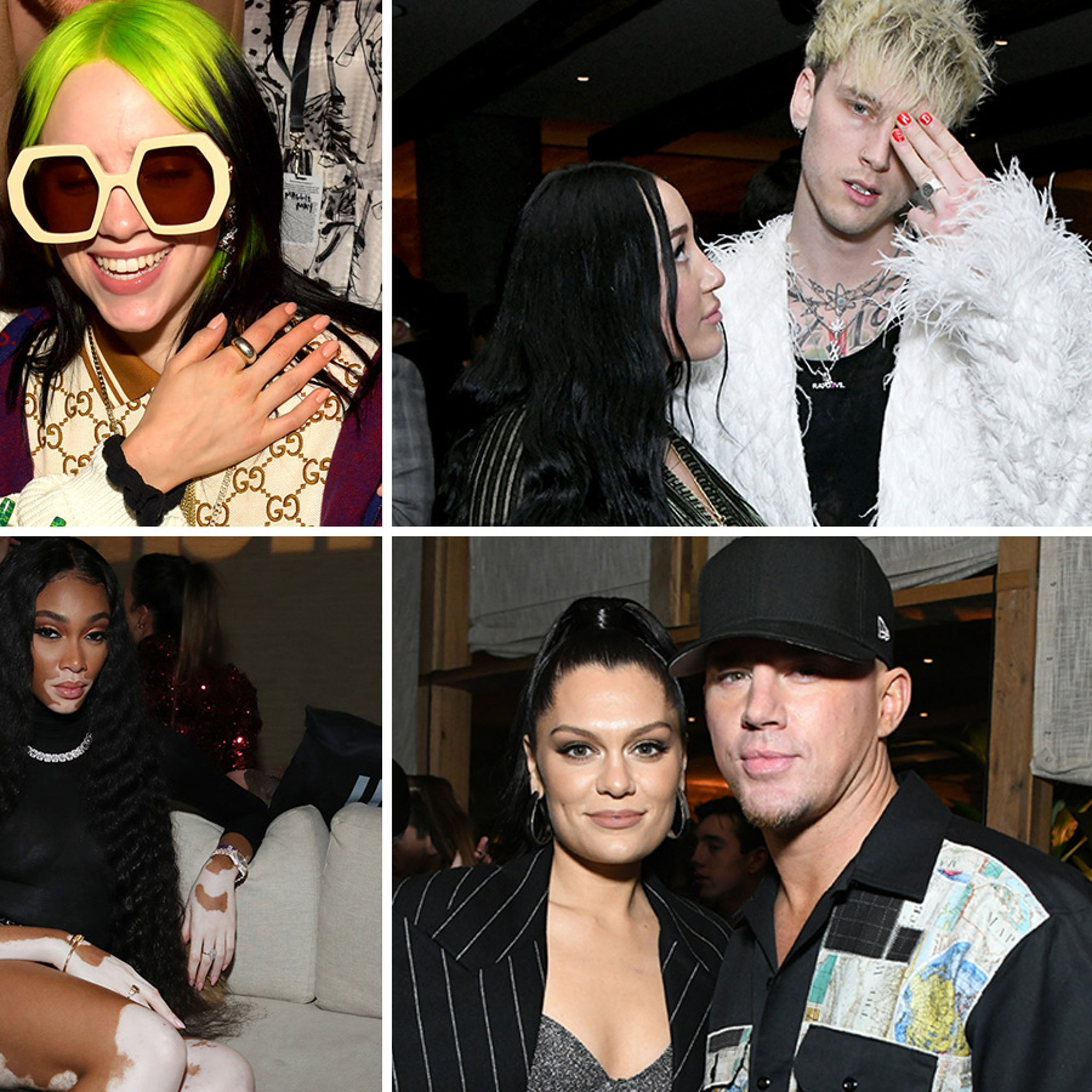 Billie Eilish, Tons of Stars Hit Up Grammy Awards After-Party