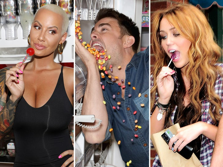 Stars With A Sweet Tooth