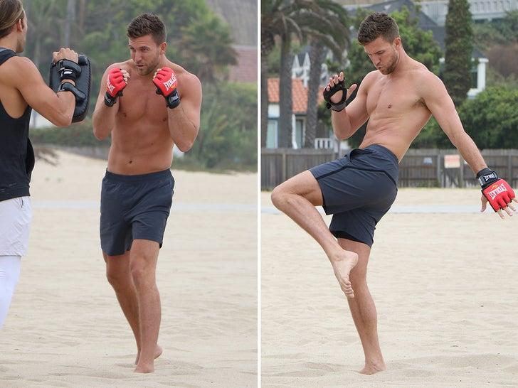 Corey Brooks Hitting The Beach
