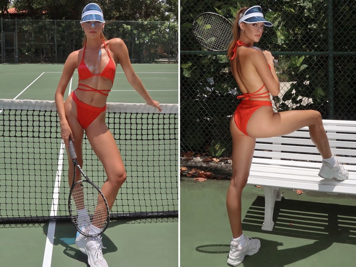 Rikki Gage Serves Up Tennis Hot Shots
