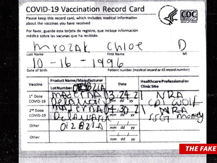 hawaii fake vax card