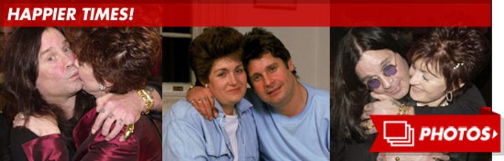 Ozzy and Sharon Osbourne -- Before the Split!