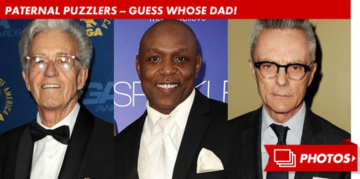 Paternal Puzzler -- Guess Who!
