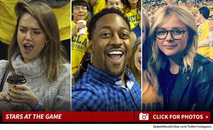 Stars at The UCLA vs. Kentucky Game