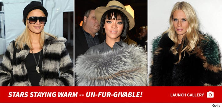 Stars Staying Warm -- Un-Fur-Givable!