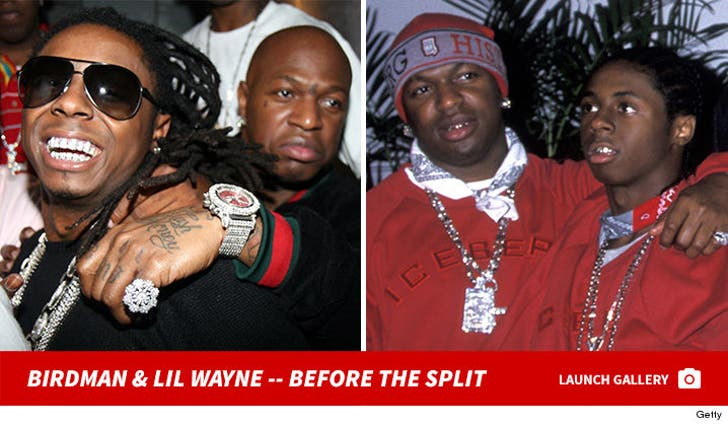 Birdman and Lil Wayne -- Together Photos