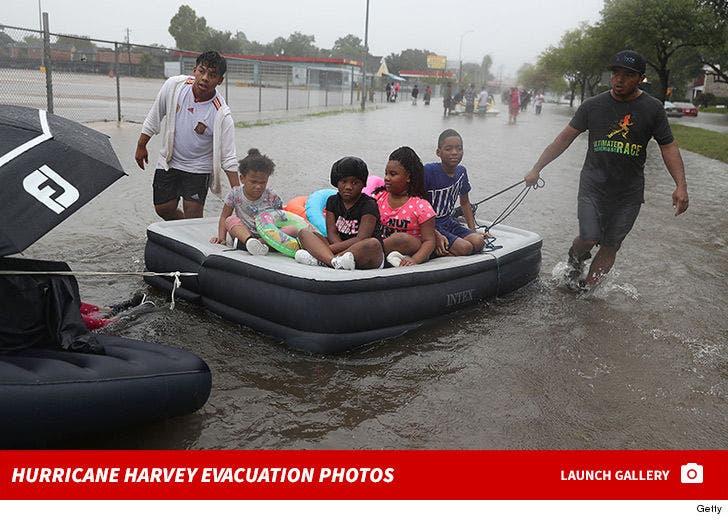 Hurricane Harvey -- Evacuation Photos