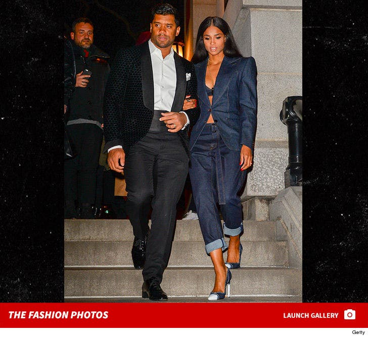 Russell Wilson and Ciara -- The NYFW Photos