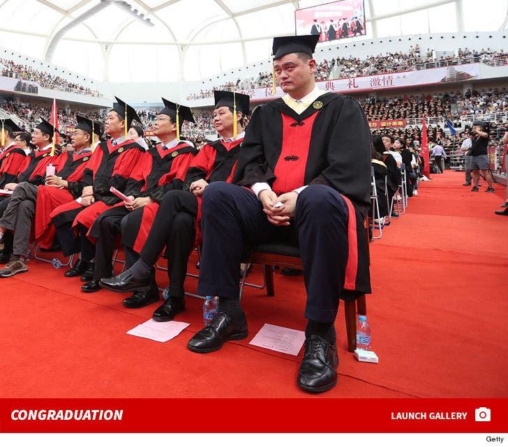 Yao Ming College Photos