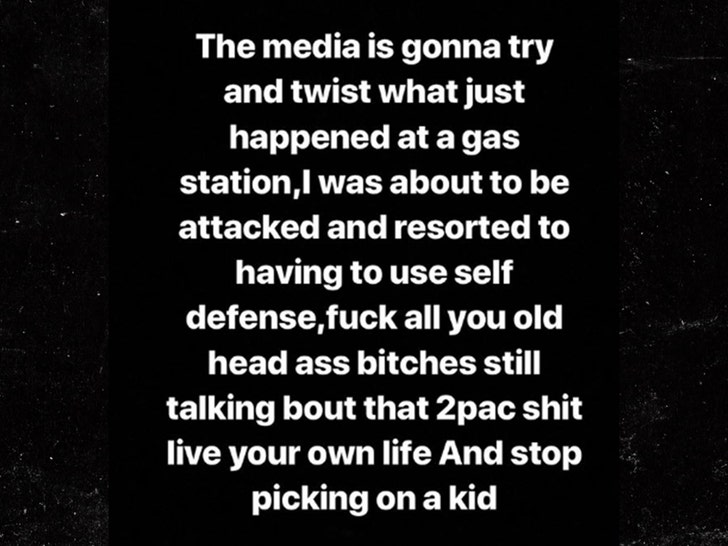 Lil Xan Pulls Gun on Man Taunting Him About Tupac 'Boring' Remark
