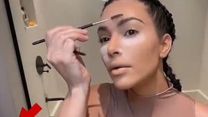 Kim Kardashian Can't Do Makeup Tutorial Without North Interrupting