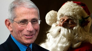 Dr. Fauci Says Santa Claus Immune to COVID and Won't Spread it