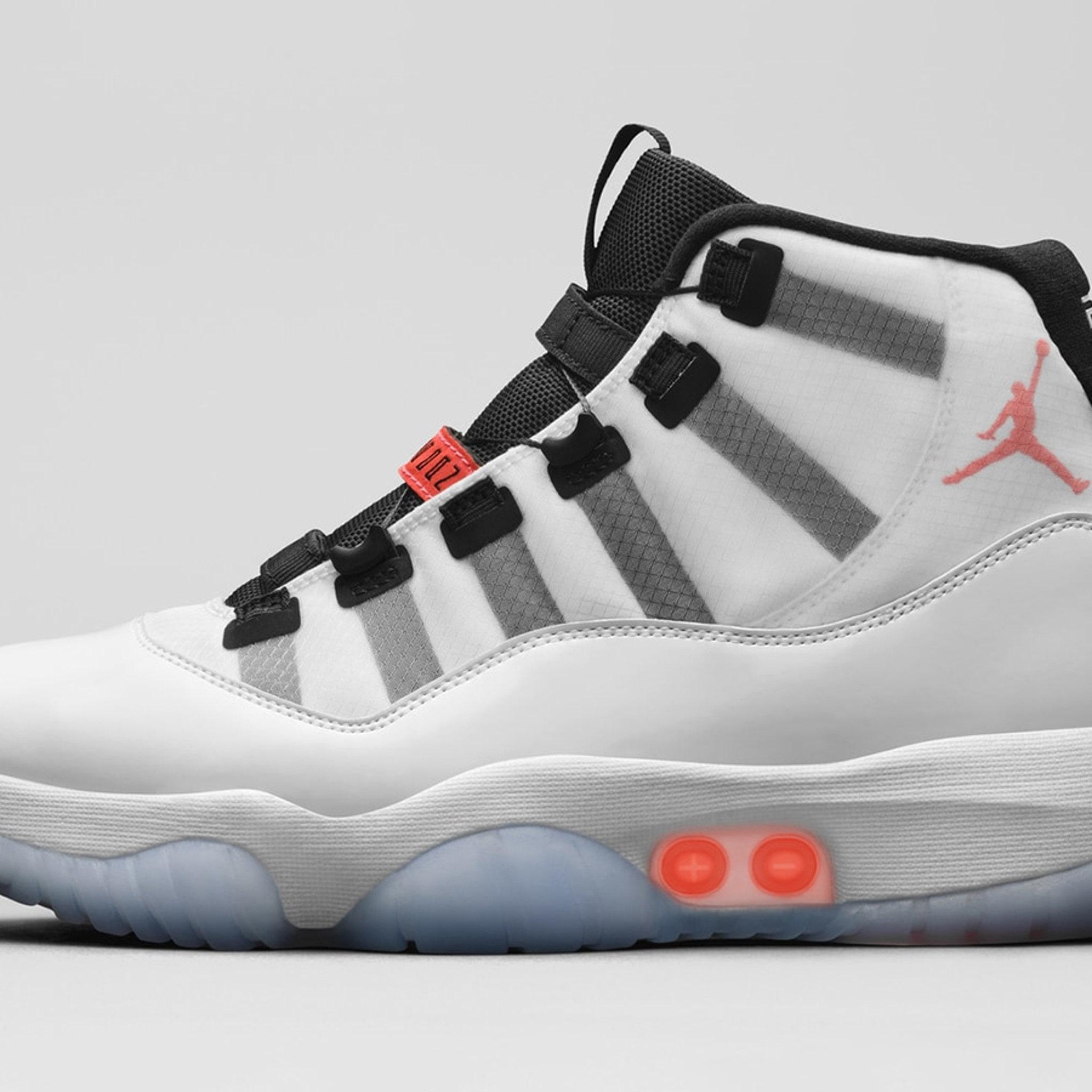 Jordan Brand Reveals Auto-Lacing Air Jordan 11s, No Strings? No ...