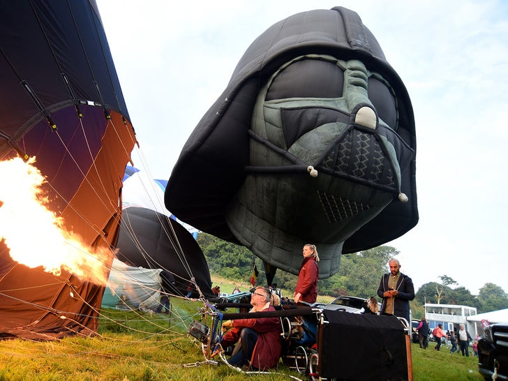 Darth Vader Balloon -- The Hot Shots