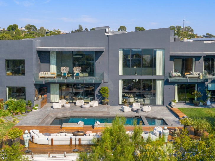 Chrissy Teigen and John Legend List Their Beverly Hills Home