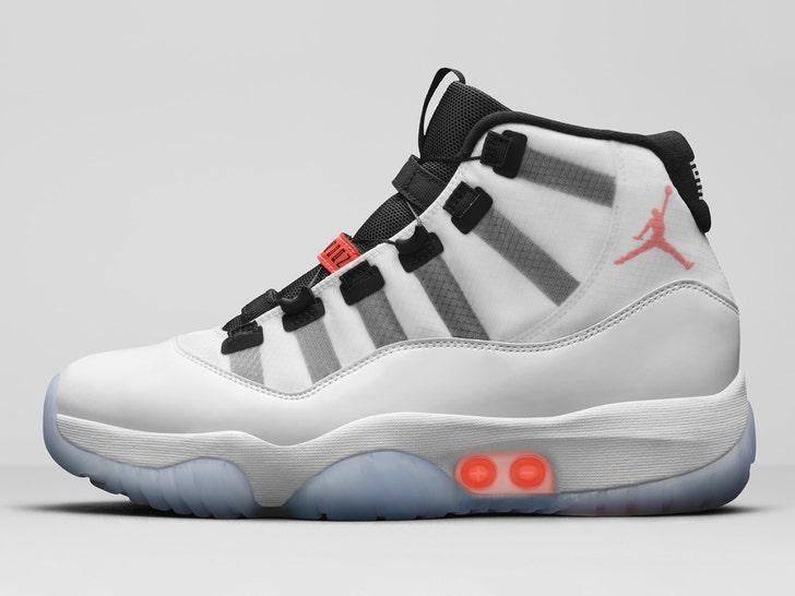 Jordan Brand Reveals Auto-Lacing Air