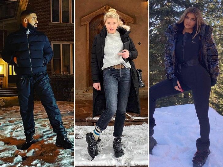 Stars In The Snow -- Winter Wonderland!