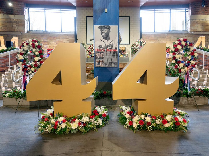 Hank Aaron Memorial Service Held In Atlanta
