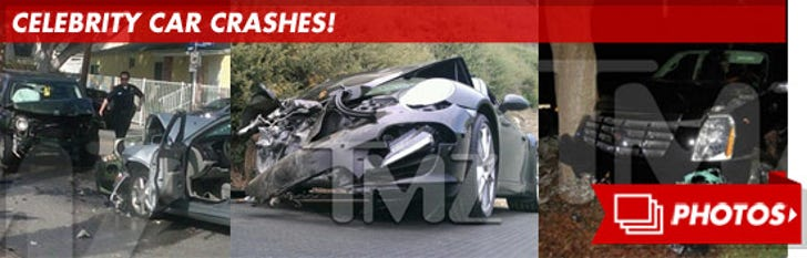 Celebrity Car Crashes